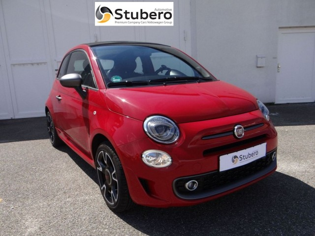 fiat 500 cabrio s 1 2 5 gang manuel euro6 stubero automotive. Black Bedroom Furniture Sets. Home Design Ideas